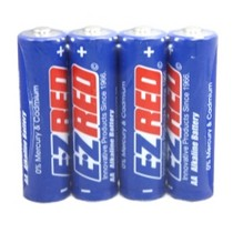 1991-1994 Honda_Powersports CBR_600_F2 E-Z Red 24 AA Alkaline Battery (6 four packs)