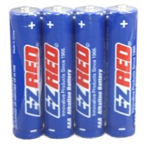 1967-1970 Pontiac Executive E-Z Red 24 AAA Alkaline Battery (6 four packs)