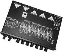 1960-1964 Ford Galaxie Earthquake Megabass7 Band Equalizer (Cd Input, Subwoofer Output, Low Pass Xover, Ipod Input)