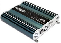1985-1989 Ferrari 328 Earthquake Digital Class D Amplifier (2,000 W Mono Black, Xover, Remote Bass - Two OHM Stable)