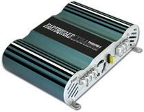 2001-2006 Dodge Stratus Earthquake Power House Class A/B Amplifier (800 W. 2 CH., Xover RCA In/Out, Hi Level Input)