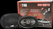 2007-9999 Saturn Aura Earthquake TNT High End 4x6 2-way Coaxial  Speakers