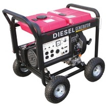 2004-2006 Chevrolet Colorado Eastern Tools and Equipment 4000 Watt Portable Diesel Generator