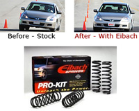 89-95 BMW 5 Series E34 525i, 535i Eibach Lowering Springs - Lowers Front:1.2 inch/ Rear:1.0 inch