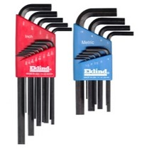 1960-1961 Dodge Dart Eklind Tool Company 22 Piece Combination Short and Long Hex-L Hex Key Sets