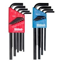 1987-1990 Nissan Sentra Eklind Tool Company 22 Piece Combination (SAE and Metric) Long Hex-L Key Sets
