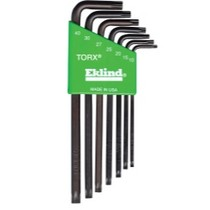 1960-1961 Dodge Dart Eklind Tool Company 7 Piece Long Torx L-Key Set