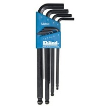 1971-1976 Chevrolet Caprice Eklind Tool Company 9 Piece Metric Long Ball End Hex-L Hex Key Set