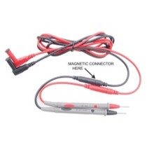 1980-1987 Audi 4000 Electronic Specialties Mag Lead With Alligator Clip Set