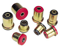 90-94 Eagle Talon FWD, 90-94 Mitsubishi Eclipse FWD, 90-94 Plymouth Laser FWD Energy Control Arm Bushings - Rear End Control Arm Bushing Set  (Red)