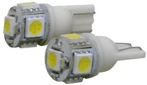 1967-1969 Chevrolet Camaro Eurolite 194 5Pcs Mini Led Bulb In White