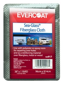 "1966-1976 Jensen Interceptor FIBREglass Evercoat Fiberglass Cloth 38"" x 1 yd."