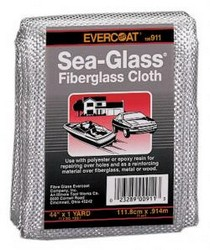 "2008-9999 Smart Fortwo FIBREglass Evercoat Fiberglass Mat - 38"" x 34"""