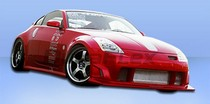 2003-2008 Nissan 350z Extreme Dimensions Wings Body Kit