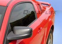 2005-2009 Ford Mustang Duraflex Scoops - Racer Window Scoops