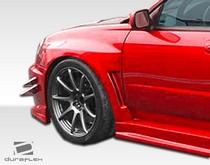 Subaru Impreza Extreme Dimensions Fender Flares at Andy's Auto Sport