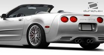 1997-2004 Chevrolet Corvette Convertible, Z06 models require modification Extreme Dimensions ZR Edition Rear Fenders