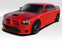 06-10 Dodge Charger Duraflex Daytona Look Front Lip base model 104851