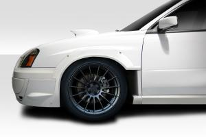 Subaru Impreza Fender Flares At Andys Auto Sport