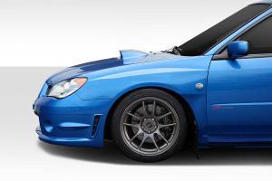 Subaru Impreza Fiberglass Fenders at Andy's Auto Sport