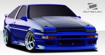 1984-1987 Toyota Corolla Extreme Dimensions RF Design Body Kit