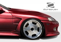 1992-2000 Lexus SC Must be used in conjunction with complete wide body kit Duraflex V-Speed Widebody Front Fenders