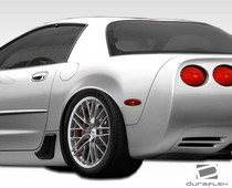 1997-2004 Chevrolet Corvette Will not fit Z06 or convertible models Duraflex ZR Edition Rear Fenders