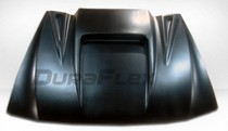 All Jeeps (Universal), Universal - Fits all Vehicles Duraflex Universal Scoop - Spyder 3 Hood Scoop