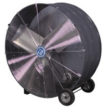 "1961-1977 Alpine A110 FASCO 36"" Industrial Grade Belt Drive Drum Fan"