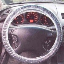 1966-1970 Ford Falcon Film Tech Plastic Steering Wheel Cover - 250 Qty.