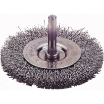 "1968-1984 Saab 99 Firepower Circular Wire Wheel Brush, 2"" Diameter, Coarse"