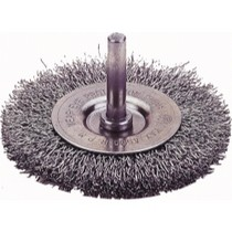 "1968-1984 Saab 99 Firepower Circular Wire Wheel Brush, 3"" Diameter, Coarse"