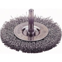"1968-1984 Saab 99 Firepower Circular Wire Wheel Brush. 3"" Diameter, Fine"
