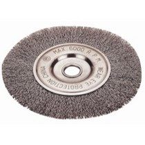 "1967-1970 Pontiac Executive Firepower Crimped Type Wheel Brush, 4"" Diameter"