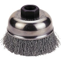 "1967-1970 Pontiac Executive Firepower Crimp-Type Wire Cup Brush, 4"" Diameter"