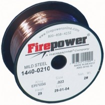 "2008-9999 BMW 1_Series Firepower ER70S-6 Mild Steel Welding MIG Wire .023"" 2 Lbs."