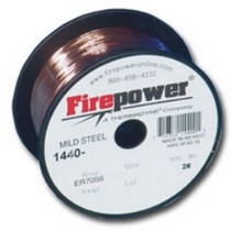 "2008-9999 Smart Fortwo Firepower ER70S-6 Mild Steel Welding Wire .035"" 2 Lbs."