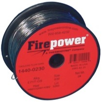 "2008-9999 BMW 1_Series Firepower E71T-GS Flux Cored Welding Wire .030"" 2 Lbs."
