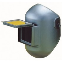 "1972-1980 Dodge D-Series Firepower Lift/Fixed Front Combo Helmet, 4-1/2"" x 5-1/4"" Black"