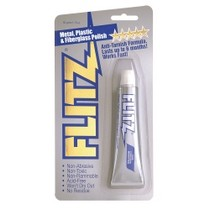 1966-1970 Ford Falcon Flitz Metal, Plastic and Fiberglass Polish 1.76 oz Tube
