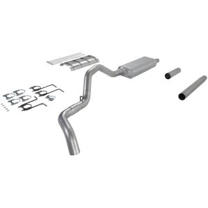 87-93 Ford F250 V8, 7.5L , 87-93 Ford F350 V8, 7.5L Flowmaster Force II Cat-Back Exhaust System - Single Side Exit with 70 Series Big Block II Muffler