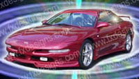 1993-1997 Ford Probe FX Designs Series 1 Combat Style Body Kit