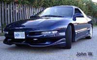 1993-1997 Ford Probe FX Designs Series 2 Style Body Kit