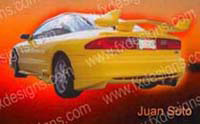 1993-1997 Ford Probe FX Designs Combat Style Body Kit