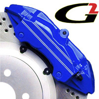 1989-1992 Ford Probe G2 Caliper Paint - High Temperature Brake Caliper Paint System Set (Blue)