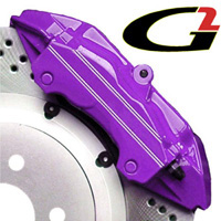 2002-2003 Honda_Powersports Valkyrie G2 Caliper Paint - High Temperature Brake Caliper Paint System Set (Purple)