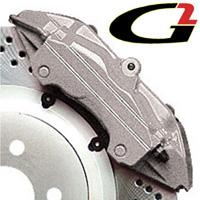 2007-9999 GMC Acadia G2 Caliper Paint - High Temperature Brake Caliper Paint System Set (Silver)
