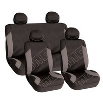 1999-2006 GMC Sierra G International Momo Seat Covers - Black/Grey