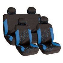 1988-1991 Honda Prelude G International Momo Seat Covers - Black/Aqua
