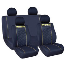 1999-2006 GMC Sierra G International Momo Seat Covers - Black/Yellow